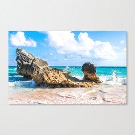 Horseshoe Bay, Bermuda Canvas Print