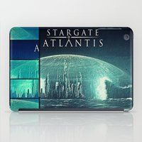 stargate iPad Cases featuring Through the storm by Samy