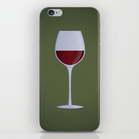 Red Wine iPhone & iPod Skin