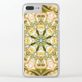 Mandalas from the Heart of Freedom 15 Clear iPhone Case