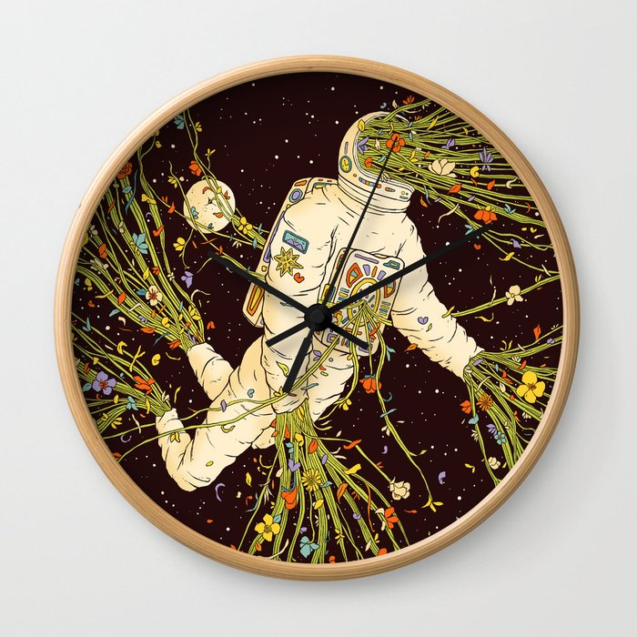 Still Living (Out of Body) Wall Clock