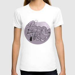 Energy Vampires Purple T-shirt
