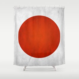 Flag of Japan Shower Curtain
