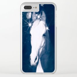 Stars of Blue Clear iPhone Case
