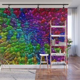 Following every new trend ... Wall Mural