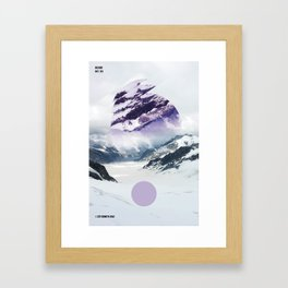 01232017 Framed Art Print