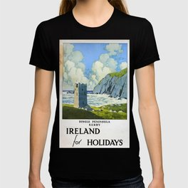 Ireland for Holidays Vintage Travel Poster T-shirt