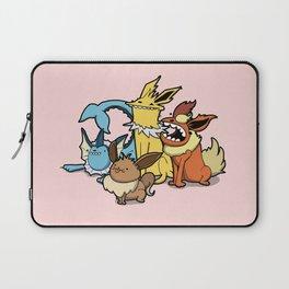 Pokémon - Number 133, 134, 135 and 136 Laptop Sleeve