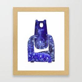 BlueBear Framed Art Print