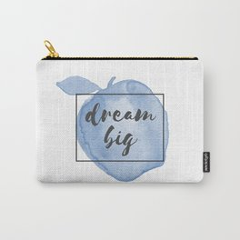 Dream Big Watercolor Apple Carry-All Pouch