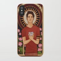 michael scott iPhone & iPod Cases featuring Scott by callahaa
