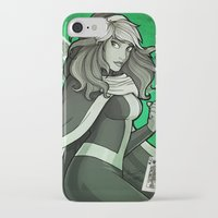 rogue iPhone & iPod Cases featuring Rogue by Miss-Lys