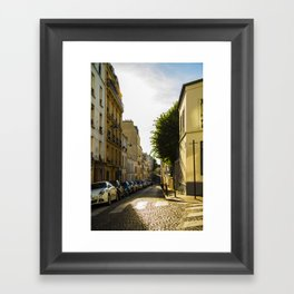 Montmartre series 2 Framed Art Print