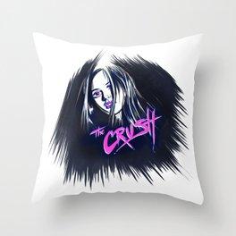 CRUSH'D Throw Pillow