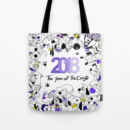 Hapy New Year Tote Bag