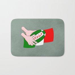 Rugby Italy Bath Mat