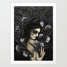 Flowering self Art Print