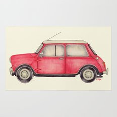 Original Austin Mini - Ballpoint Pen Rug