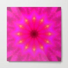 Star Flower of Symmetry 509 Metal Print