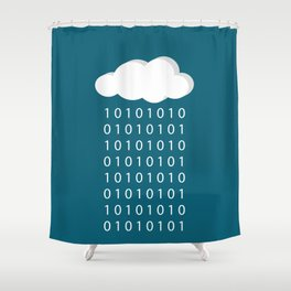 BinaRain Shower Curtain