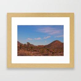 Mojave Moon Framed Art Print
