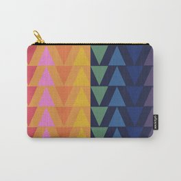 Day and Night Rainbow Triangles Tasche