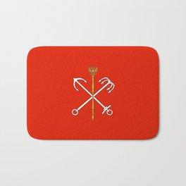 Flag of Saint Petersburg / Санкт-Петербу́рг Bath Mat