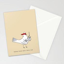 Teenage Mutant Ninja Turtle Dove Stationery Cards