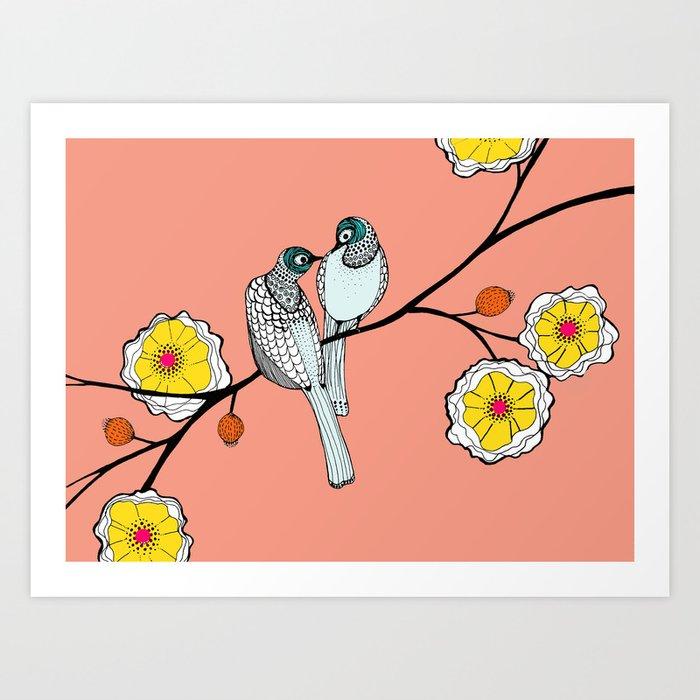 fresh love Art Print