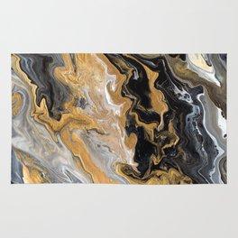 Gold Vein Marble Rug