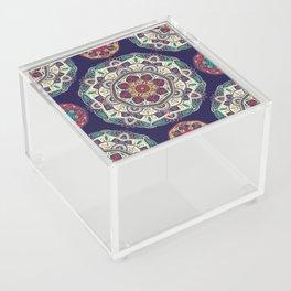 Colorful Mandala Pattern 007 Acrylic Box