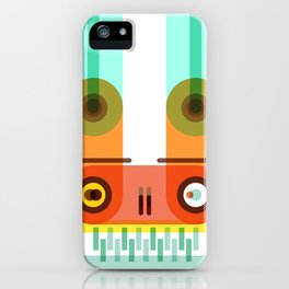 Electrical bunny iPhone Case