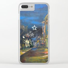 Christmas in Baden Baden Clear iPhone Case