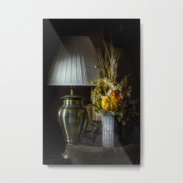 Harvest Decor Metal Print