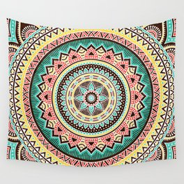 Hippie Mandala 13 Wall Tapestry