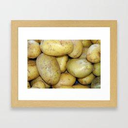 Potatoes Framed Art Print
