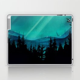 Magic in the Woods - Turquoise Laptop & iPad Skin