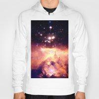 nebula Hoodies featuring nebUla : Warm Scorpius by GalaxyDreams