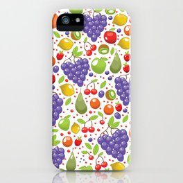 Fruit Pattern iPhone Case