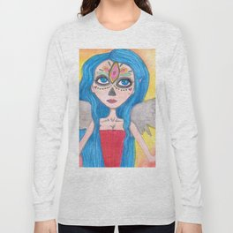Day of the Dead Angel Long Sleeve T-shirt