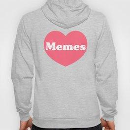 Heart Memes Hoody