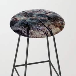 Starry Sky in the Forest Bar Stool