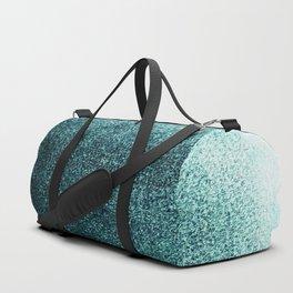 Teal Green Mist Duffle Bag