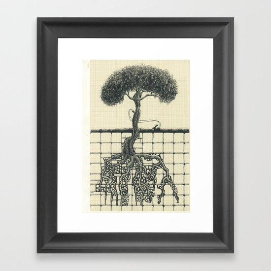 Artificial Tree N.15 Framed Art Print