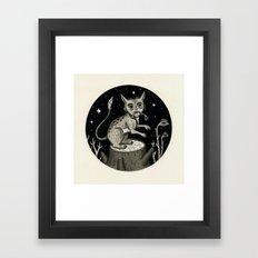 Caught Snacking Framed Art Print