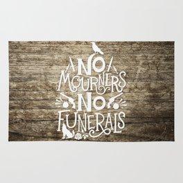No Mourners No Funerals Rug