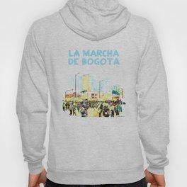 La marcha de Bogotá Hoody