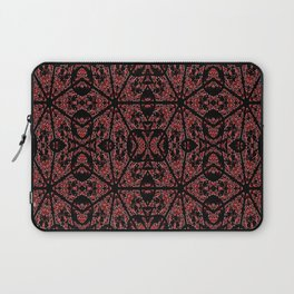 GOTHIC Red Unusual Rose Pattern Laptop Sleeve