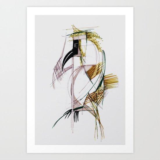 EXOTIC PARROT 2 Art Print