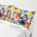 Rabbit colored pattern no2 by happyplum